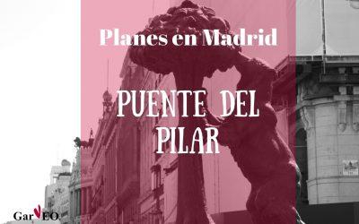 10 planes gratis en Madrid para el Puente del Pilar